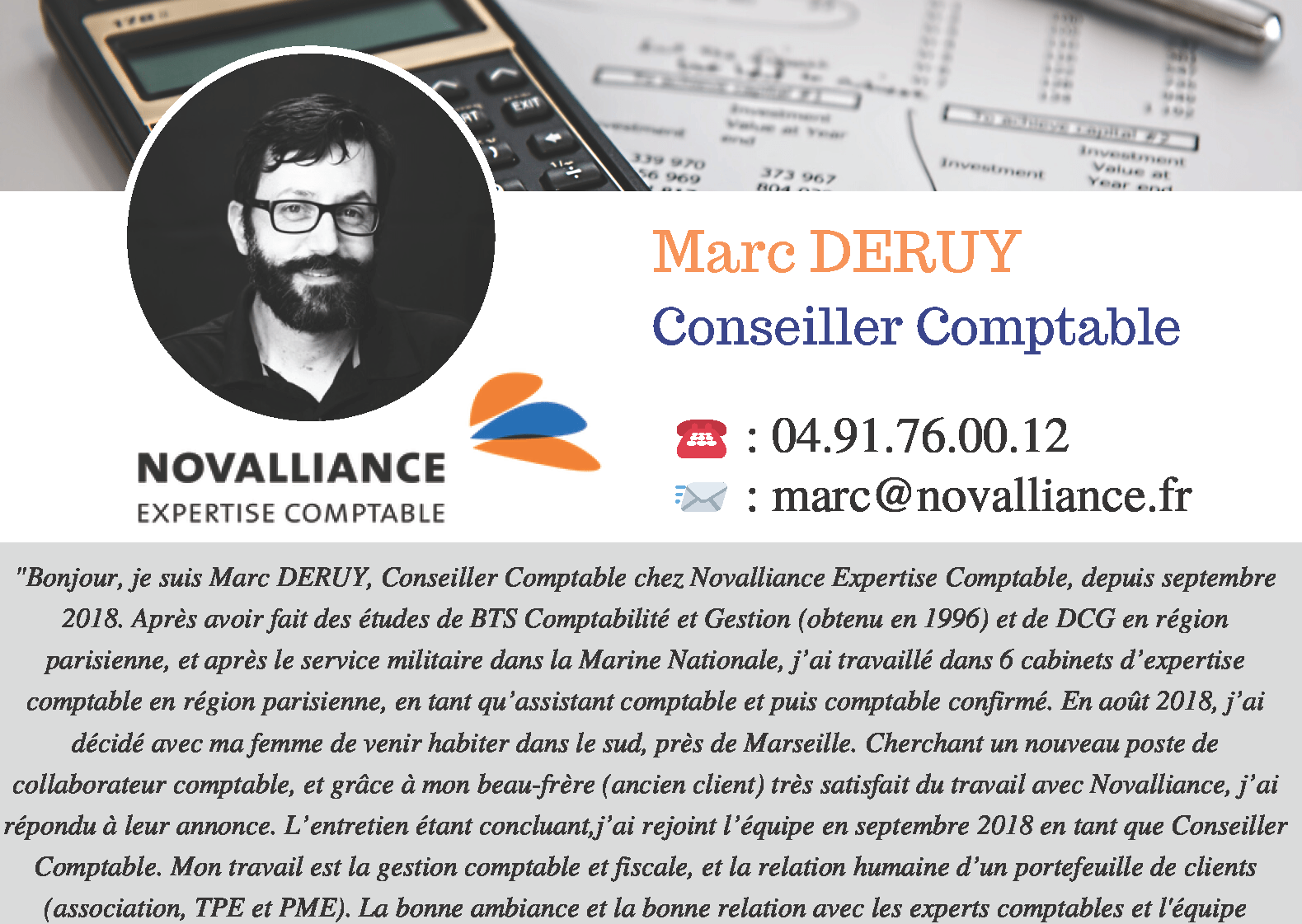 Fiche Conseiller Comptable Marc DERUY