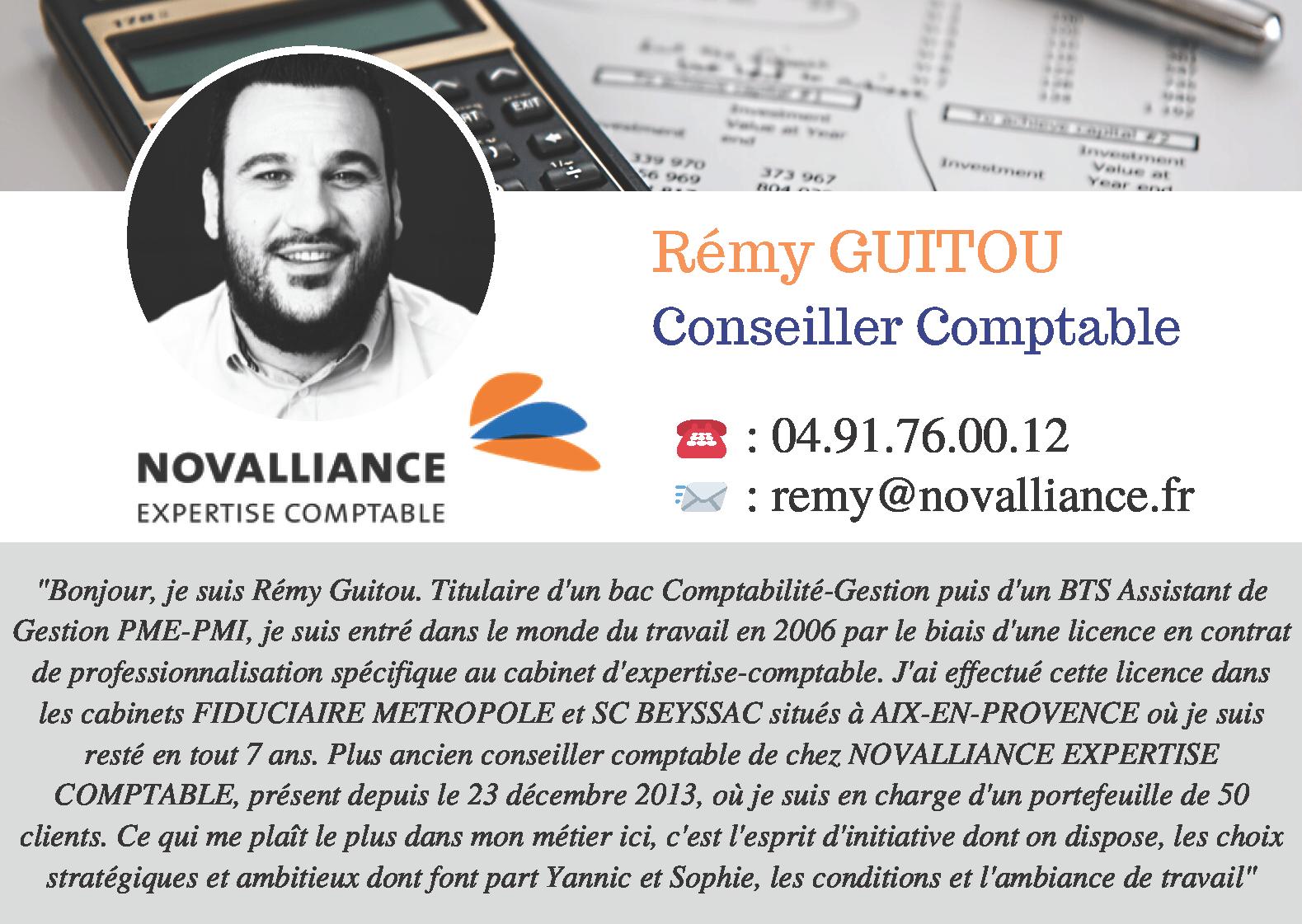 Fiche Conseiller Comptable Remy GUITOU